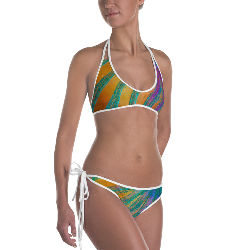 Beautiful Parrotfish Fin Bikini