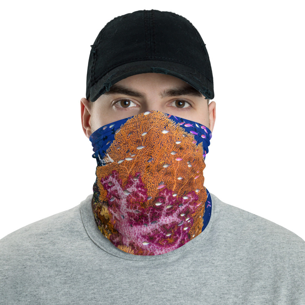 Coral Dreams Face Mask