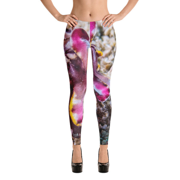 Flambouyant Cuttlefish Design Leggings