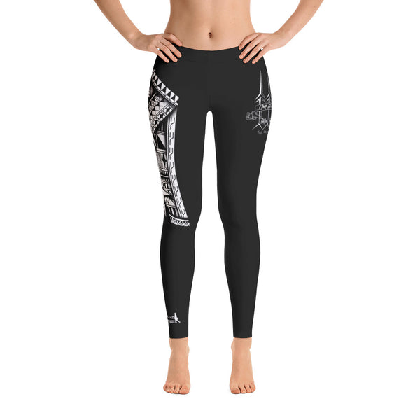 Tribal Hammerhead Leo Pugram Leggings