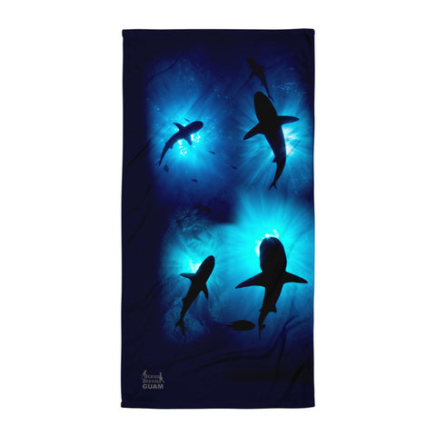 Guam Sharks Towel