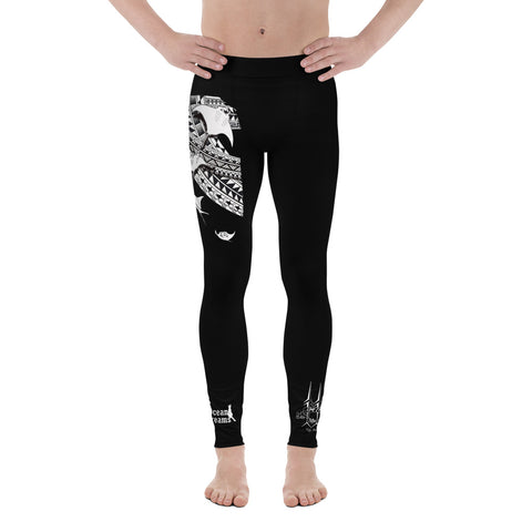 Men's Tribal Manta School design by Leo Pugram Leggings