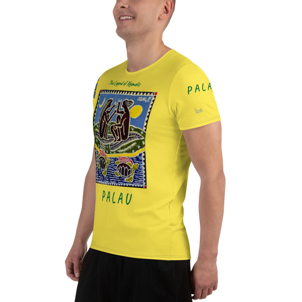 Palau Legends - Legend of Ngemelis -All-Over Print Men's Athletic T-shirt