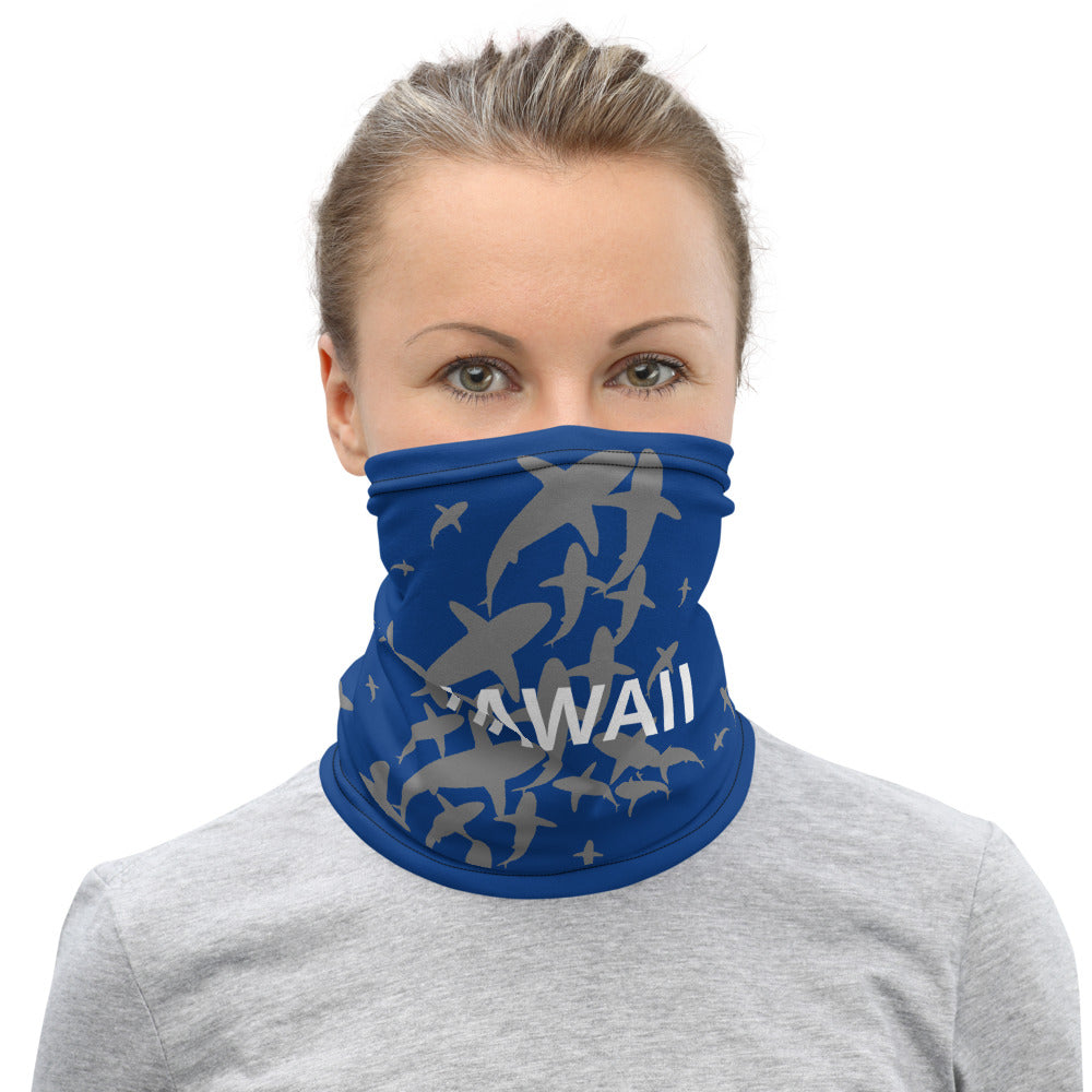 Hawaii Sharks Kickstarter Reward Face Mask