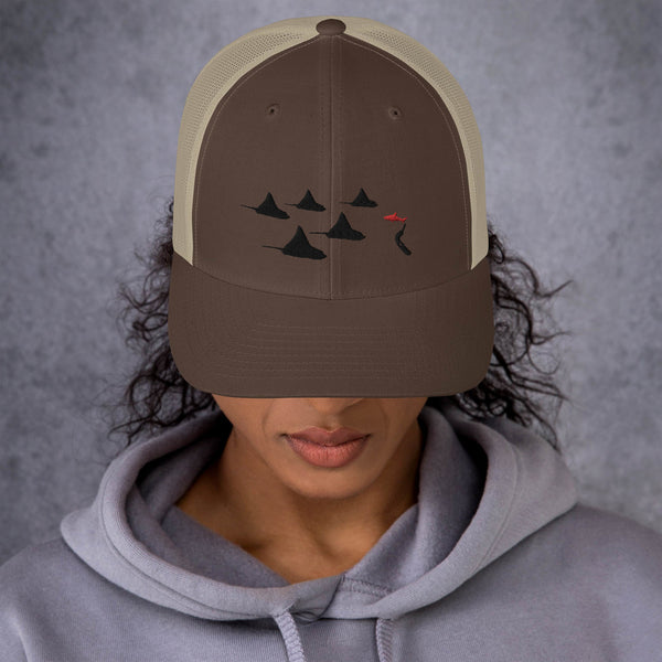 Eagle Ray City Trucker Cap