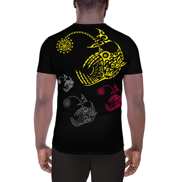 Denizens of the Deep All-Over Print Men's Athletic T-shirt