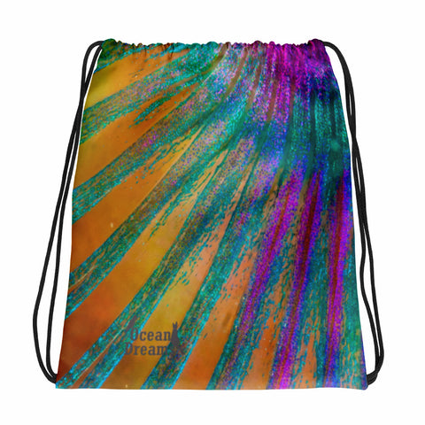 Parrotfish fin Drawstring bag
