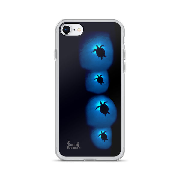 Sunburst Turtles iPhone Case