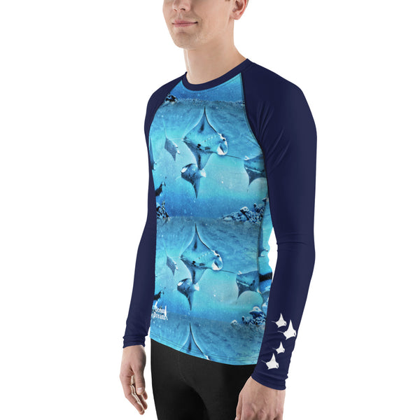 Manta Train Men's Rash Guard