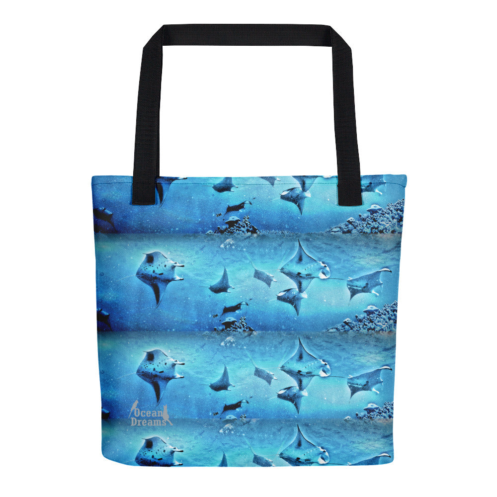 Manta Train Tote bag