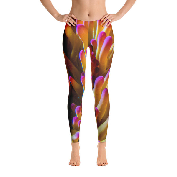 Purple-tipped Anemone Leggings