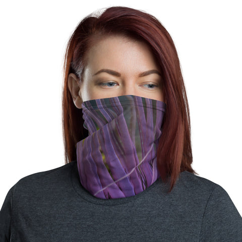 Purple Anemone Face Mask