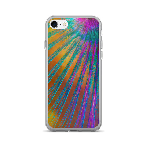 Parrotfish fin design iPhone 7/7 Plus Case