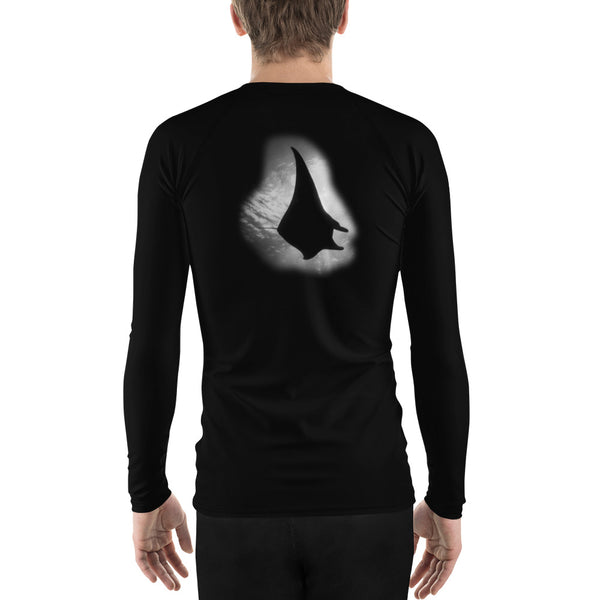 Black Manta Men's Rash Guard