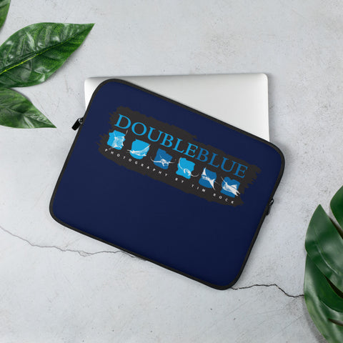 DoubleBlue Images - Photography by TIM ROCK Laptop Sleeve