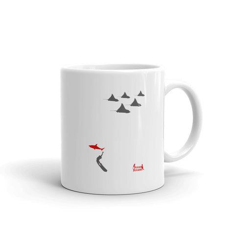 Eagle Ray City Coffee Mug