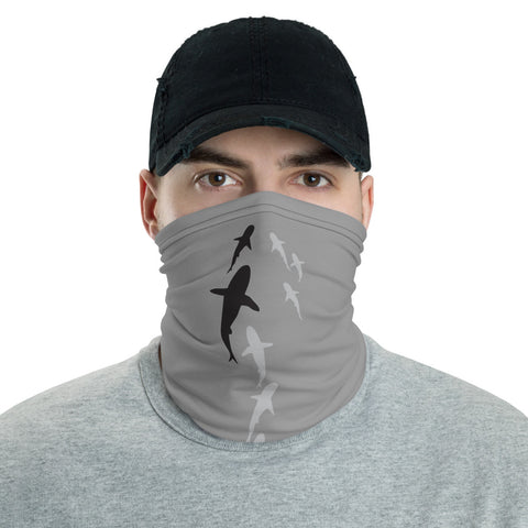 Shark Parade Face Mask