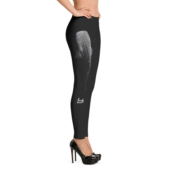 Whale Shark Below Leggings