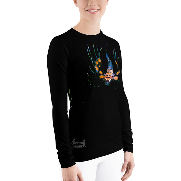 Lionfish Baby Women's Rash Guard