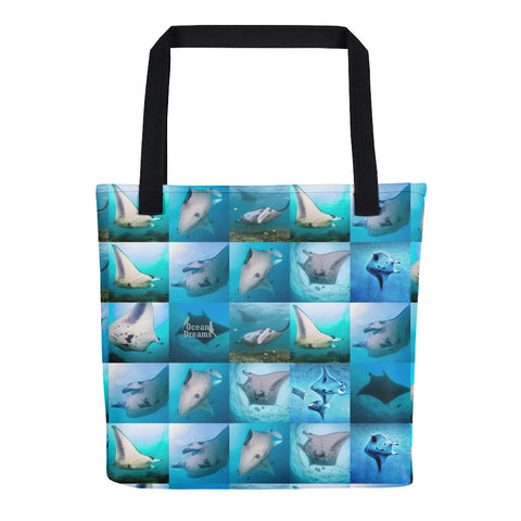 Mantas of Yap Tote bag