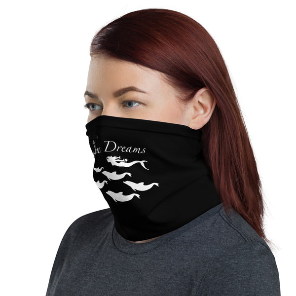 Dolphin Dreams Face Mask