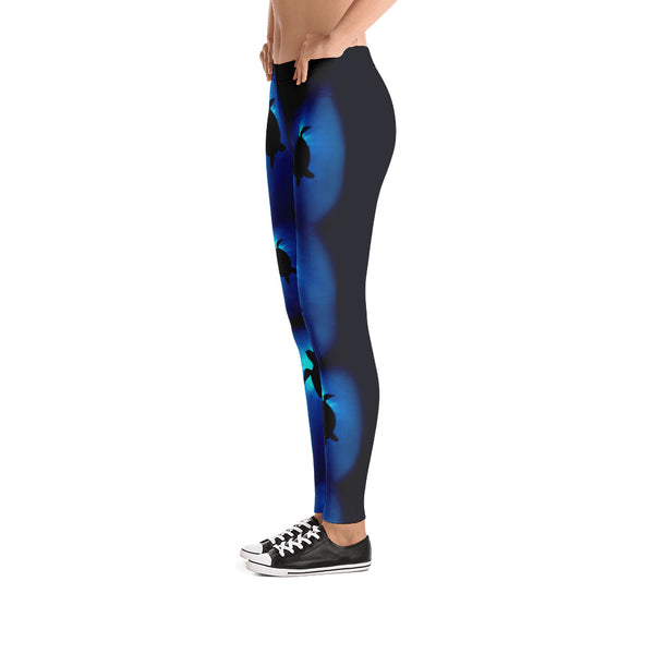 Sunburst Sea Turtle Leggings