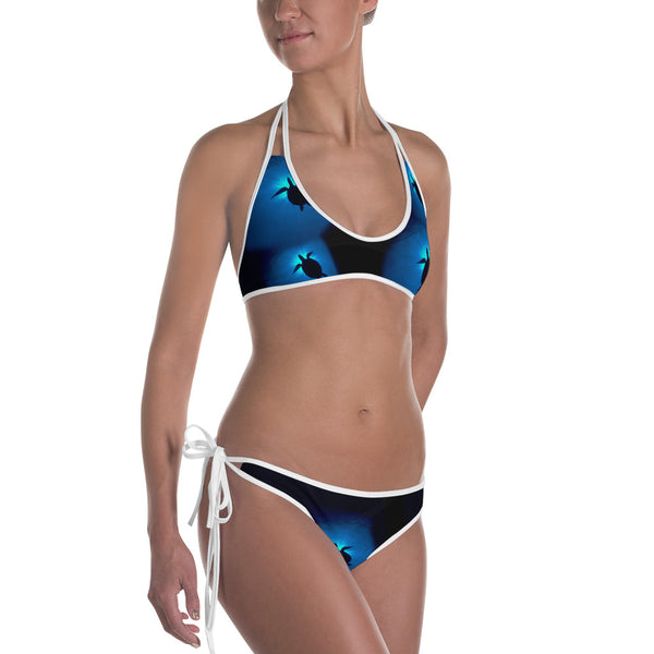 Sea Turtles Sunburst Bikini