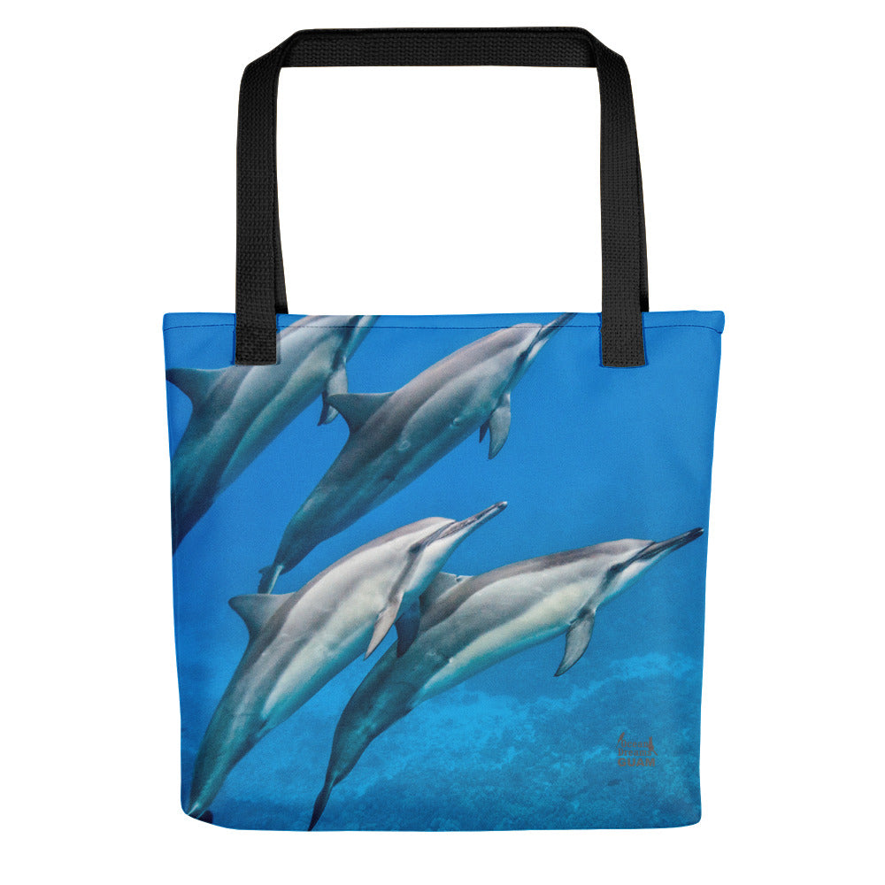 Dolphin Blue Tote bag