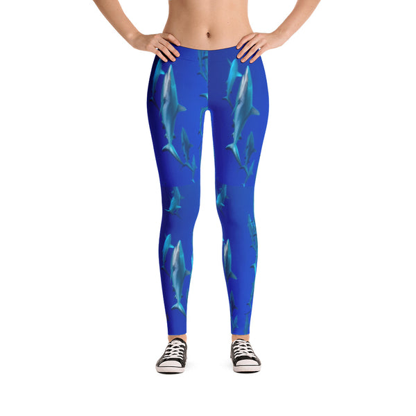 Shark Rain Leggings