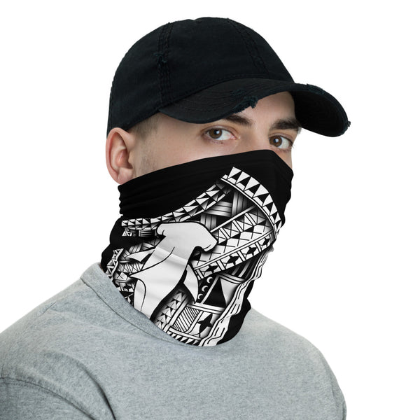 Hammerhead Tattoo Face Mask