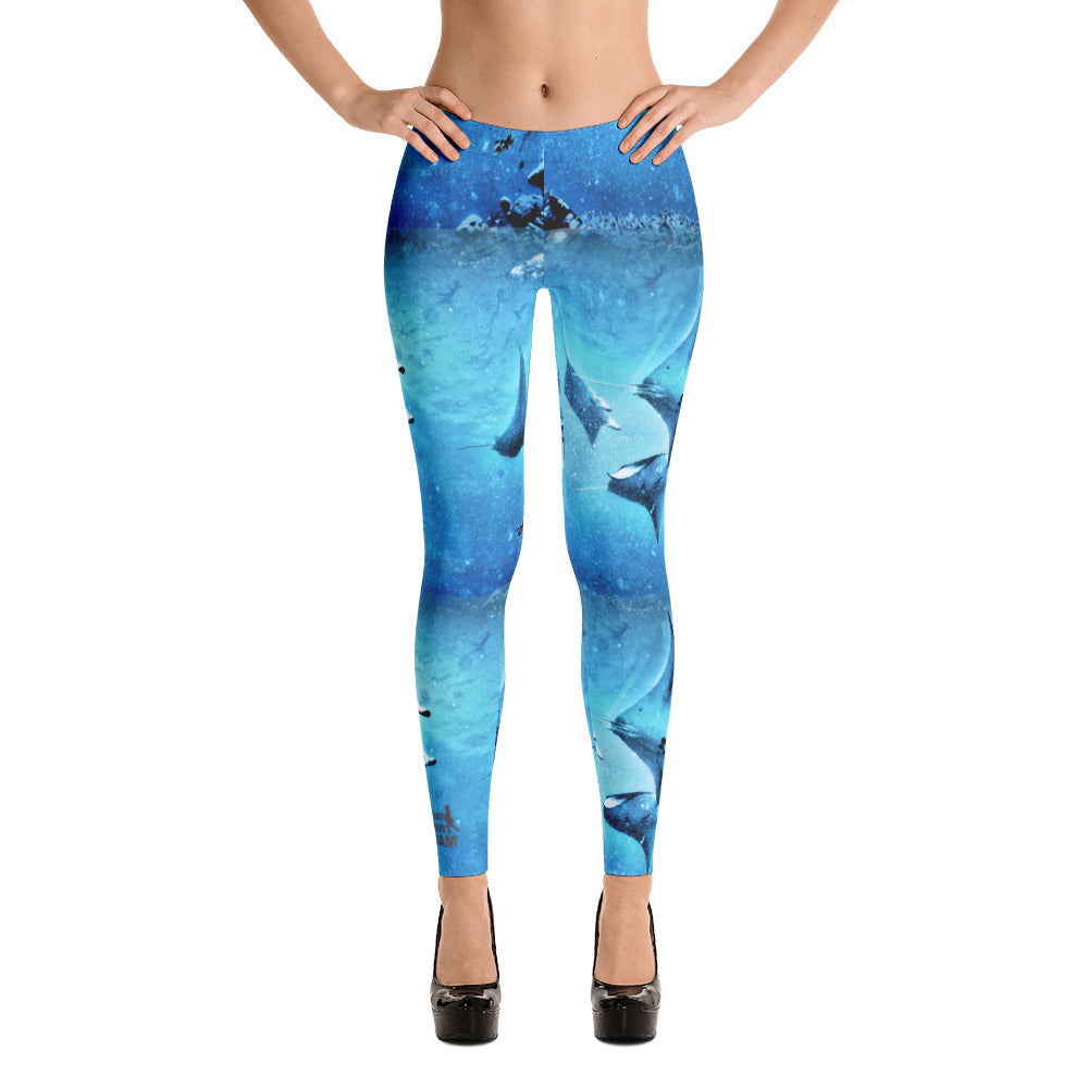 Guam Manta Train Leggings