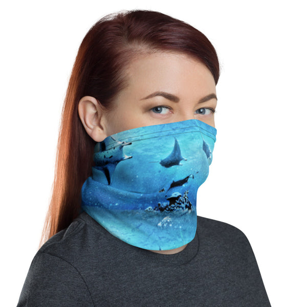 Manta Train Face Mask