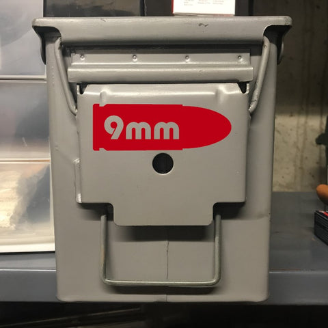 Ammo Can Labels - Large Cutout