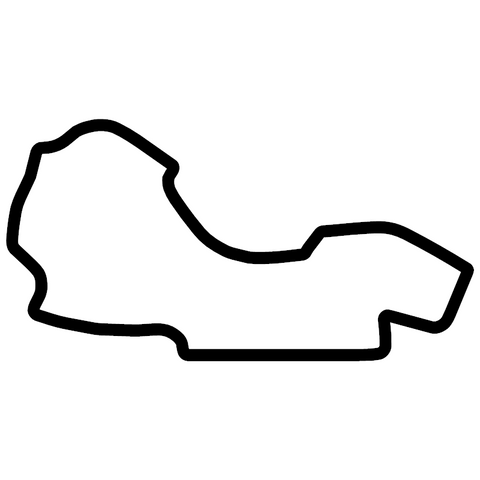 Albert Park Australia Outline