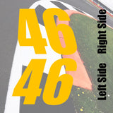 Autocross & Track Day Numbers
