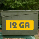 Ammo Can Labels - Jumbo Rifle