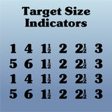 NRL22 Target Size Numbers