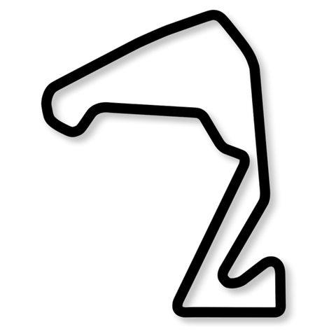 Carolina Motorsports Park Outline (CMP)