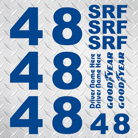 SRF Identification Set - Single Color