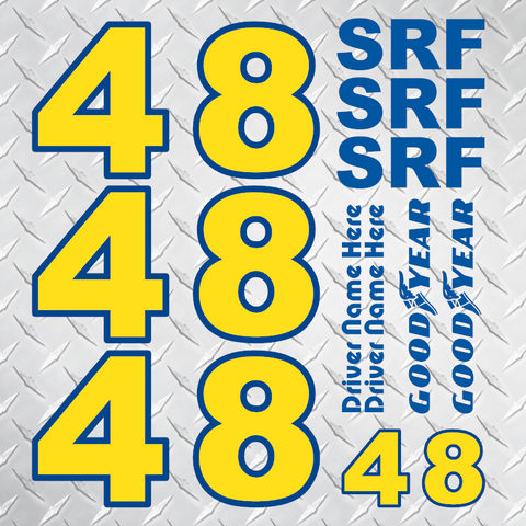 SRF Identification Set - 2 Tone