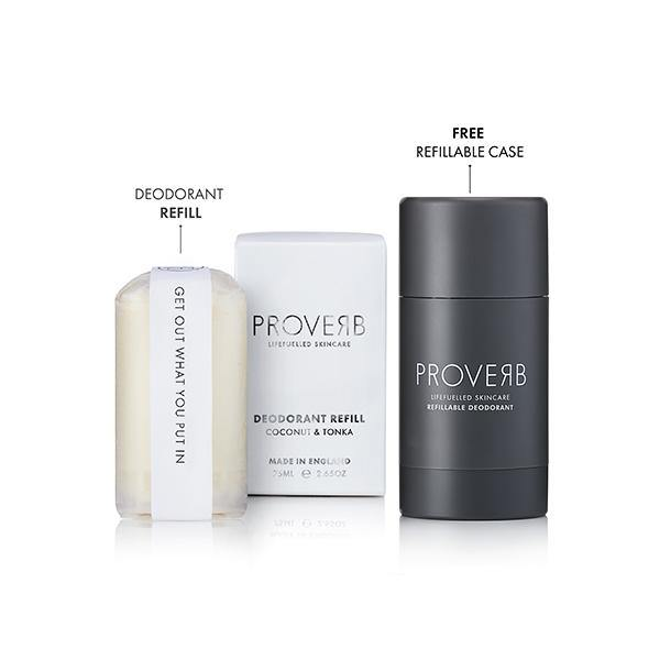 Refillable Deodorant STARTER SET