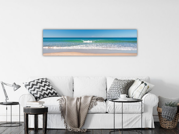 Burleigh Beach STOCK SALE GC1954 182x50cm canvas