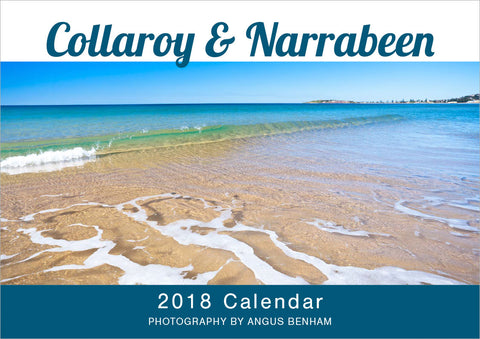 Collaroy & Narrabeen Beach A4 calendar