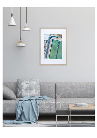 Art Paper Print - Newcastle Baths NE3765