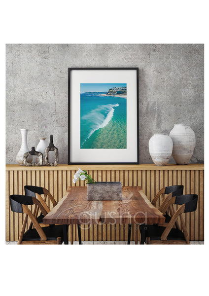 Art Paper Print - Merewether Beach NE3769