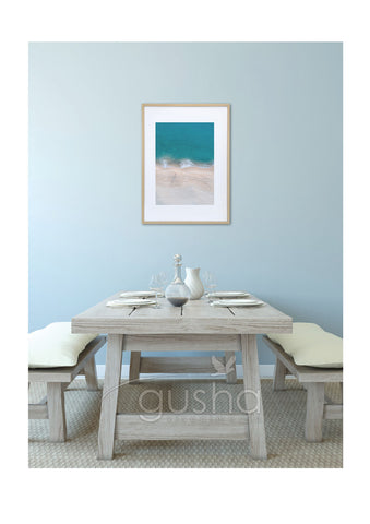 Art Paper Print - Shoal Bay PS3535
