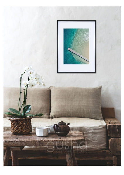 Art Paper Print - Little Beach PS3625