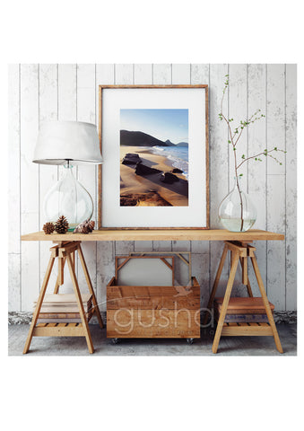 Art Paper Print - Box Beach PS3777