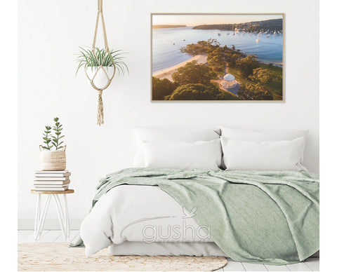 Float Frame Canvas 91x60cm Balmoral Beach SYD3700