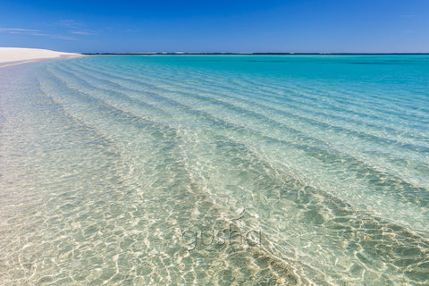 A perfect morning at Turquiose Bay, sheltered inside Ningaloo Reef, Western Australia.